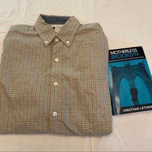 Men's J. Crew plaid button down shirt